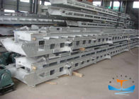 4-23m Aluminium Boat Ladders , Floating Dock Ladders For Cargo Hold Inclined Marine Door