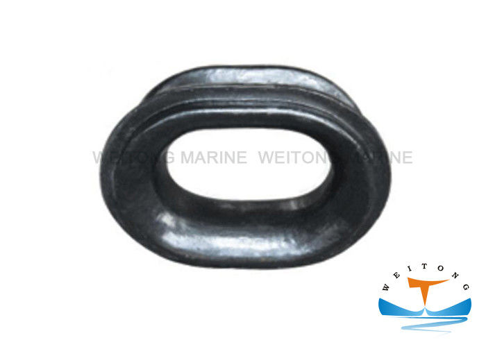 Type A Ship Mooring Chocks , Fairlead Roller Marine Polishing Surface Treatment