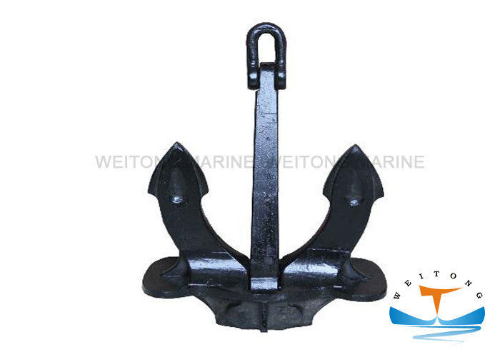 Black Painting Navy Stockless Anchor Casting Steel ZG230-450C Hall Anchor