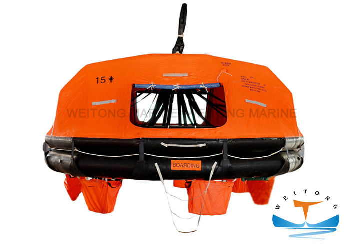 Regular Octagon Emergency Inflatable Life Raft With EC/DNV/GL Certificate
