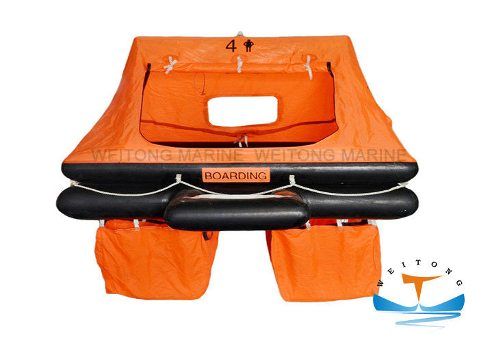 Durable Emergency Raft For Boat , Sailboat Life Raft With GL / EC Certificate