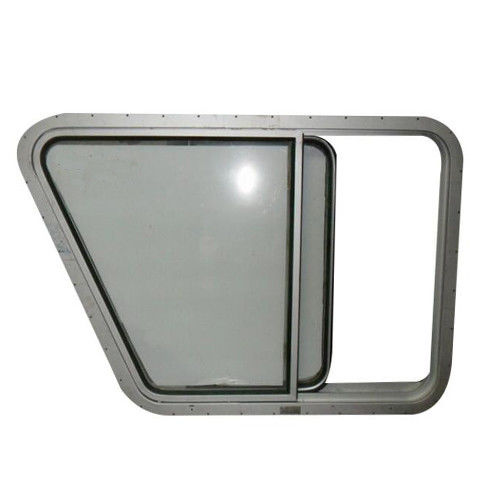 Marine Sliding Boat Windows , Aluminium Porthole Windows For Ship Wheel House