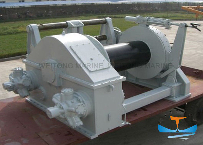10t Electric Tugger Winch , Electric Boat Winch With Strap Customized Drum Size