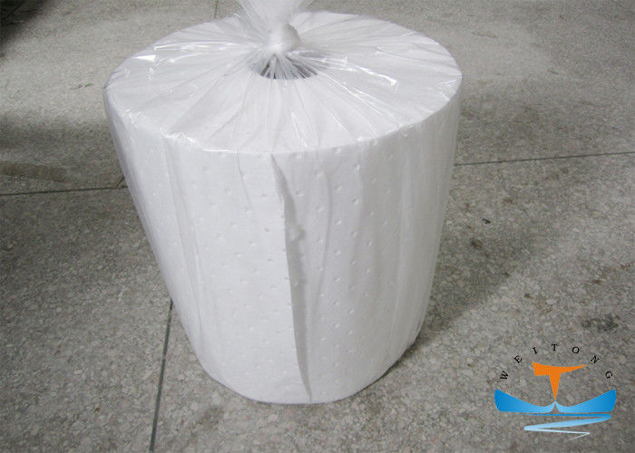 Prolypropylene Industrial Oil Absorbent Roll Melt - Blown Type 146L Absorbency