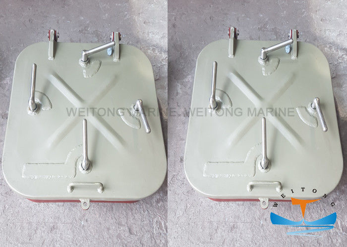 Pressure Proofing Marine Hatch Cover 600x600mm Square Type For Quick Entry