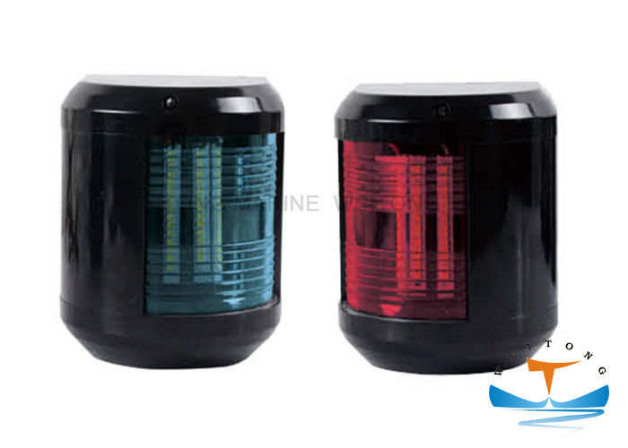 IP56 Marine Lighting Equipment , 60W E27 Ship Suez Canal Signal Light Stainless Steel Red / Blue